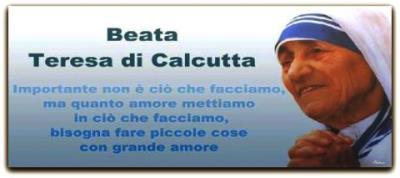 Madre Teresa: papa firma canonizzazione La proclamazione potrebbe avvenire il 4 settembre