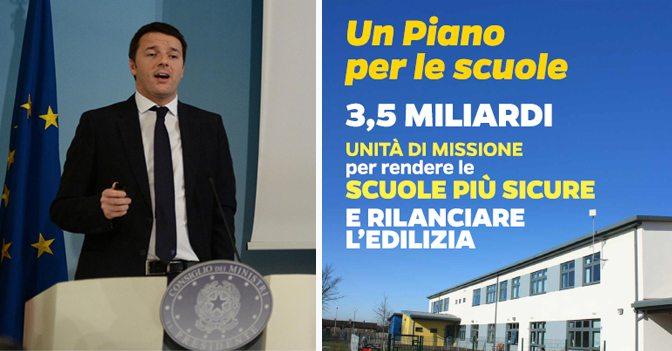 SbloccaScuole, firmato decreto da 480 milioni di euro per l'edilizia scolastica Renzi firma il decreto SbloccaScuole a favore degli investimenti nell'edilizia scolastica. Ecco a chi andranno i fondi