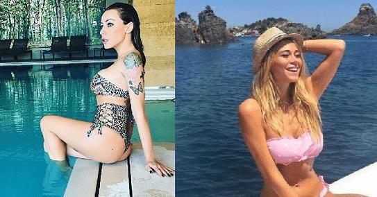 Karina Cascella contro la Leotta, spunta la storia del vib.r.atore