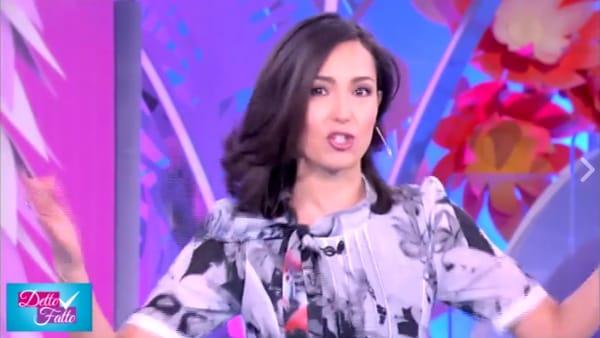"""Caterina Balivo, l'annuncio in diretta tv: """"Sono incinta"""""""