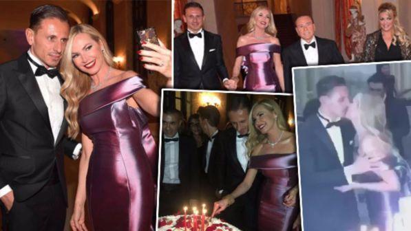 Federica Panicucci spegne 50 candeline, che festa a Villa Gernetto!