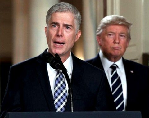 "USA: Neil Gorsuch alla Corte Suprema. Torna ""the American way of Life""."