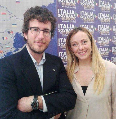 Affinità elettive: Diego Fusaro e Giorgia Meloni.