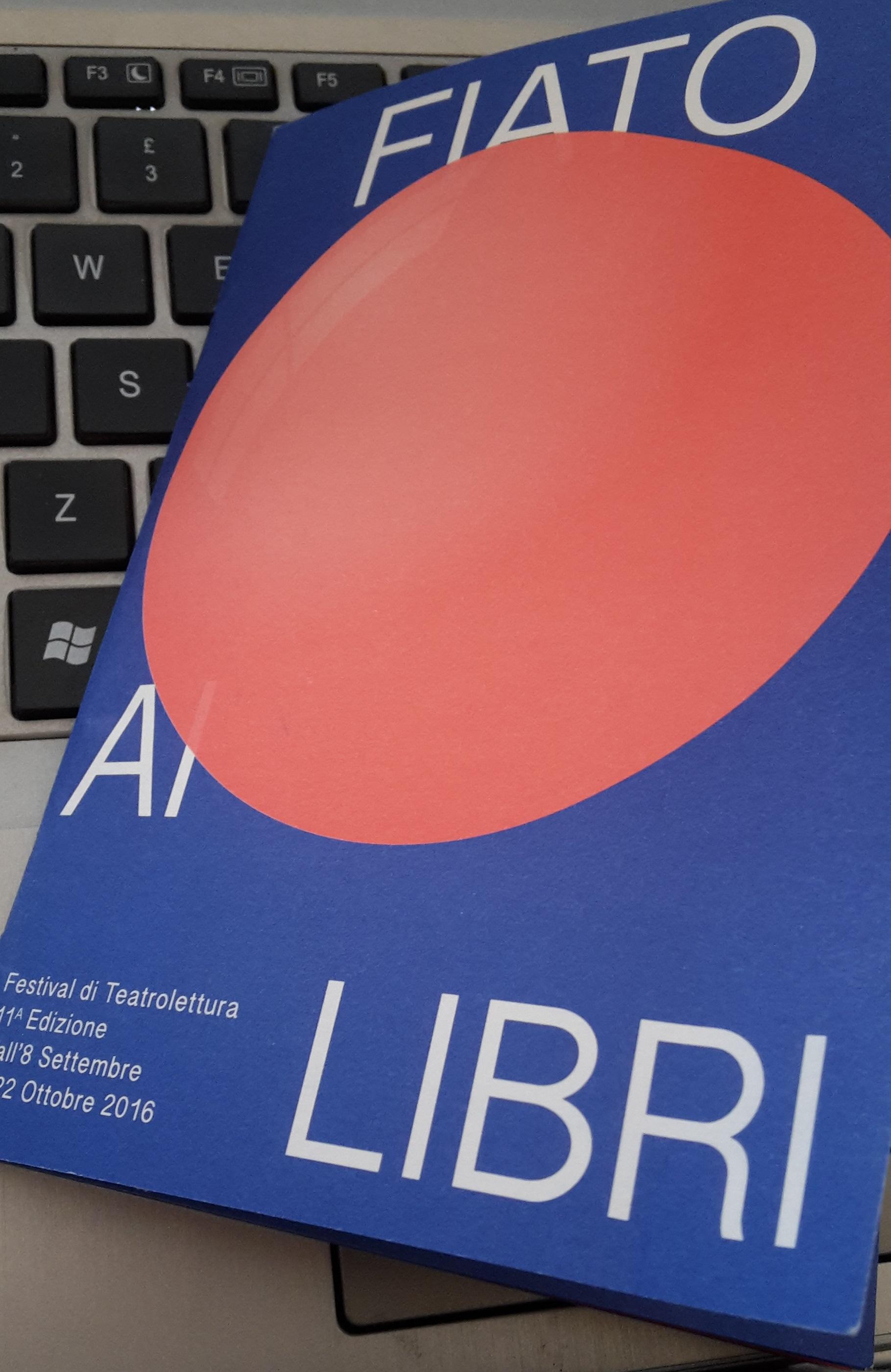 Il festival letterario Fiato ai libri e la forza persuasiva di uno scrittore letto ad alta voce