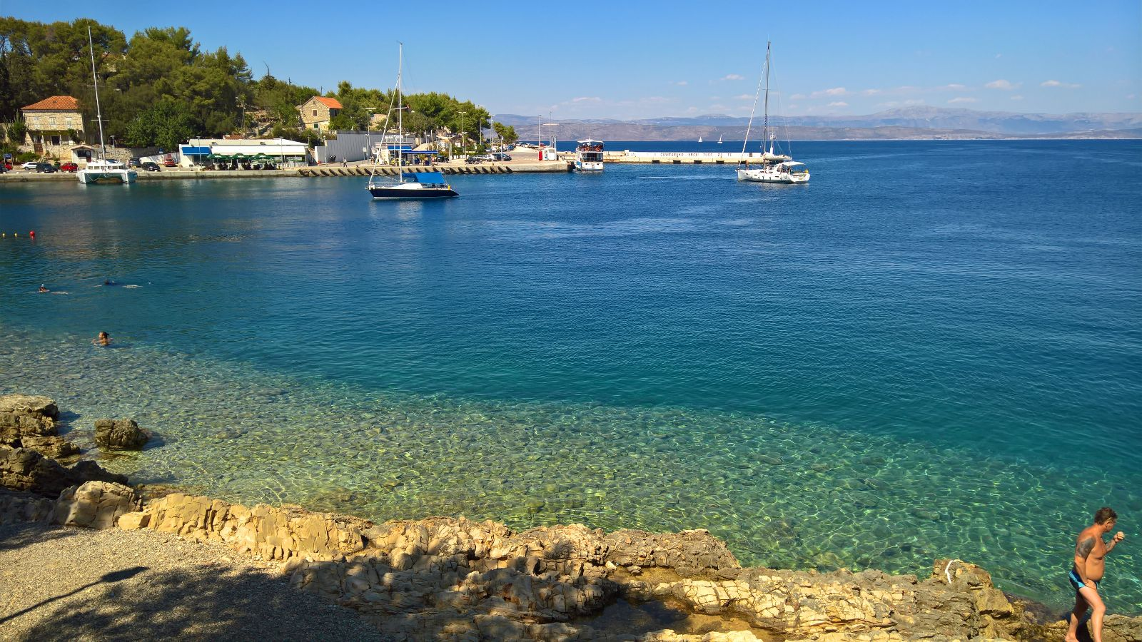Viaggio a Spalato: solo mare cristallino e silenzio a Rogac sull'isola di Solta