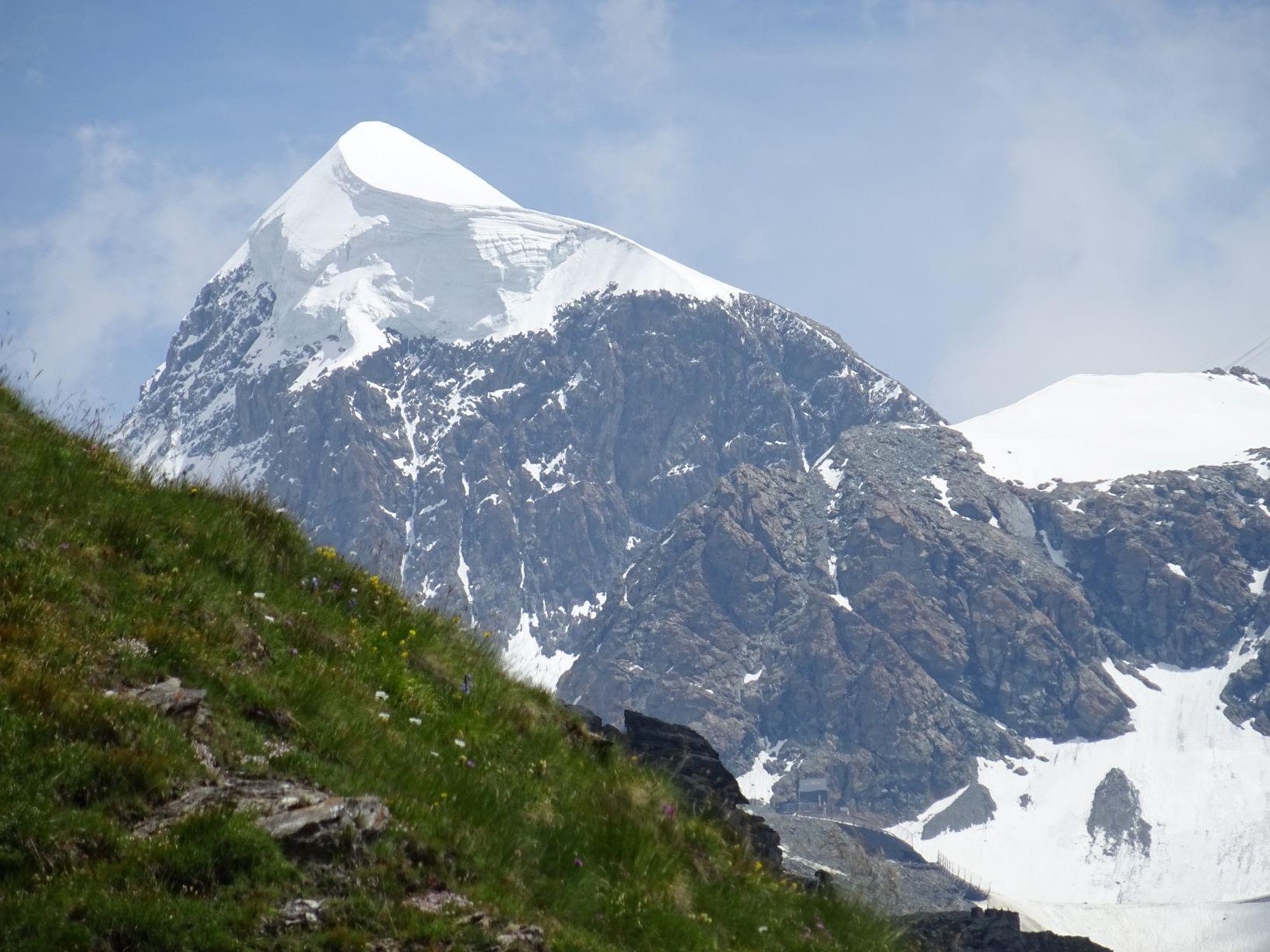 Piccolo tributo all'inverno sulla neve estiva del Plateau Rosa