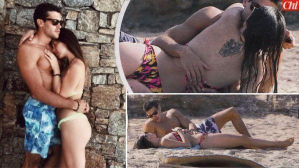 Estate d'amore per Aurora Ramazzotti in vacanza col fidanzato Goffredo Cerza a Fregene