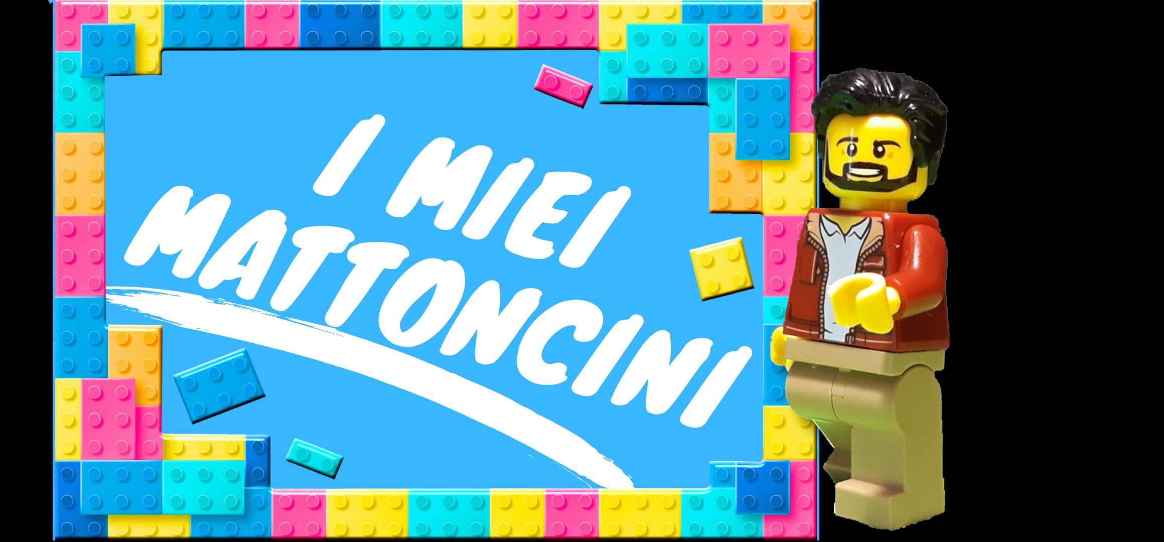 Il mio nuovo sito sui miei Lego!