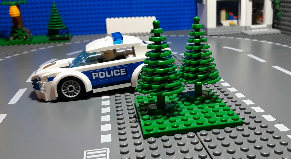 Lego police youtube video