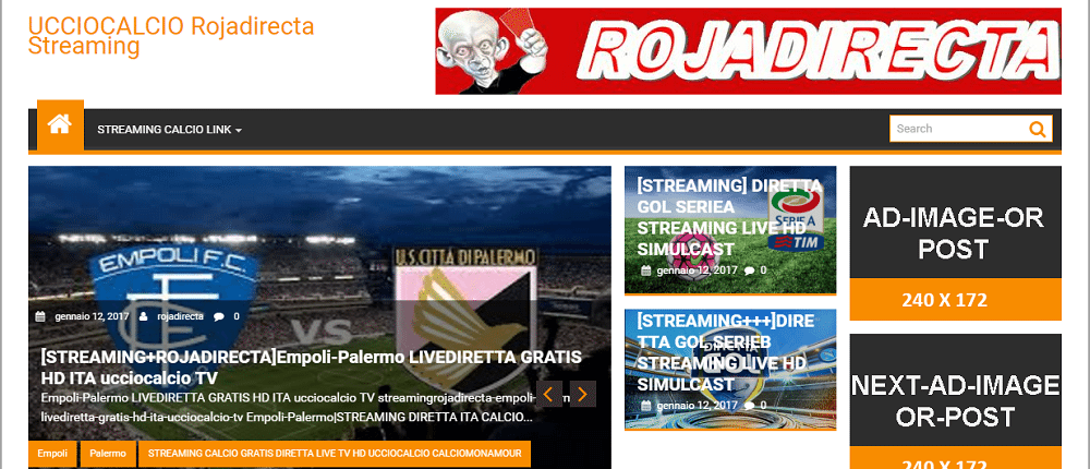 UCCIOCALCIO STREAMING TV