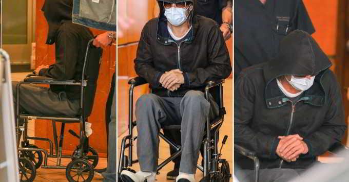 Brad Pitt esce dalla clinica di Beverly Hills in sedia a rotelle: ecco cosa è successo