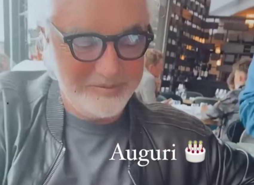 Flavio Briatore, la festa di compleanno è con Elisabetta Gregoraci