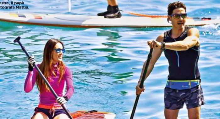 Silvia Toffanin e Piersilvio Berlusconi in love a Portofino: le rare foto coi figli