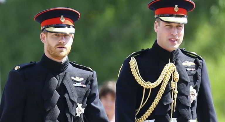 William e Harry separati al funerale di nonno Filippo