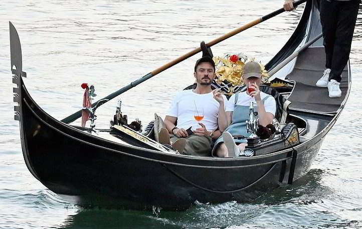 Katy Perry, Orlando Bloom e Harry Styles in vacanza a Venezia