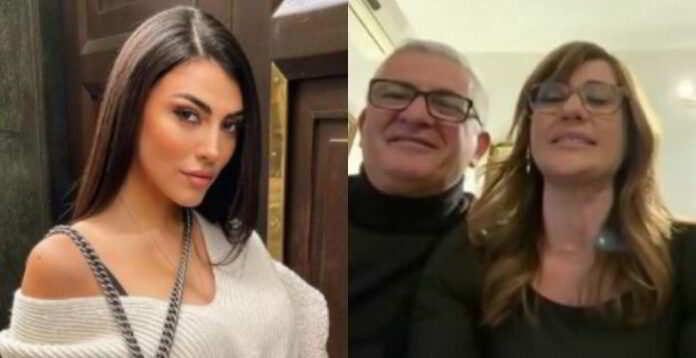 """Giulia Salemi a cena con i """"suoceri� dopo le polemiche al GF Vip"""
