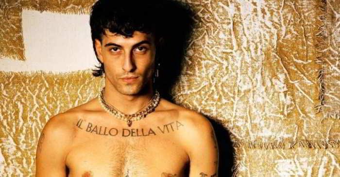 Damiano David è completamente nudo su Instagram