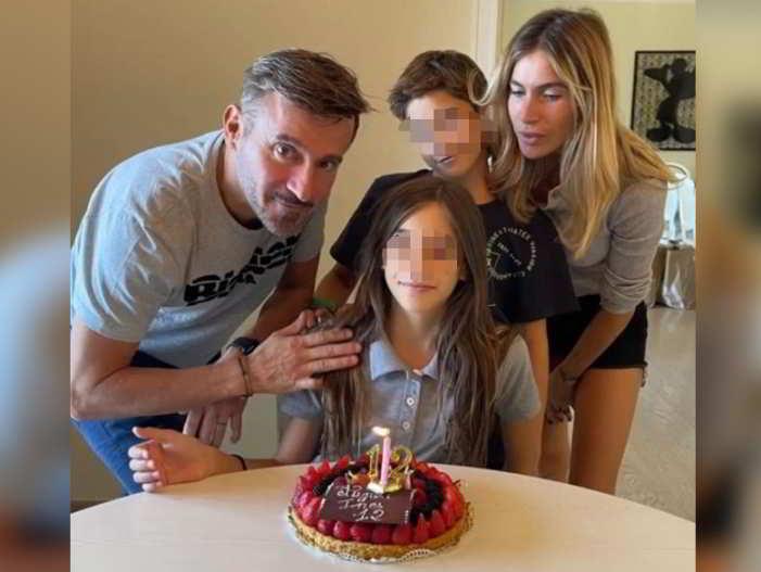 Max Biaggi ed Eleonora Pedron insieme… per la festa di Ines