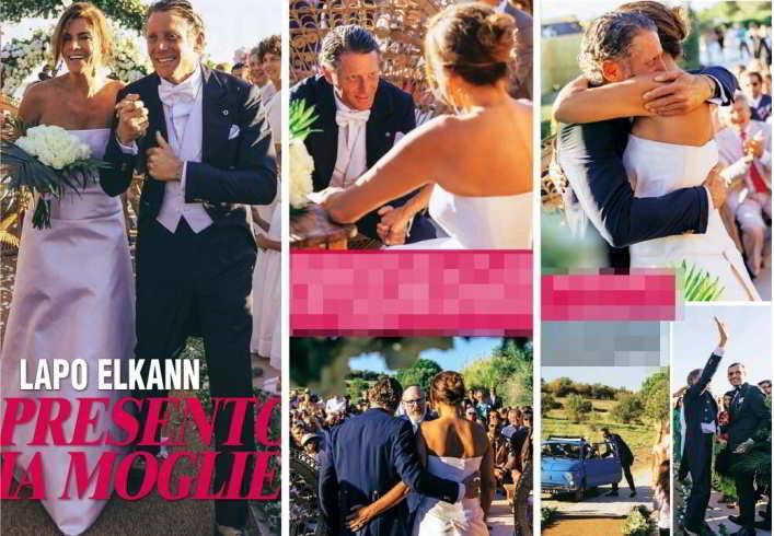 Lapo Elkann mostra l'album delle nozze, i dettagli del sì a Joana Lemos