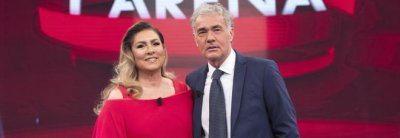 Massimo Giletti imbarazzo in tv con Romina Power
