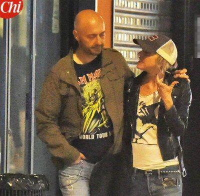 Joe Bastianich baci in pubblico con Nadia Toffa