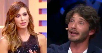 Stefano De Martino  in tv parla del figlio Belen si commuove