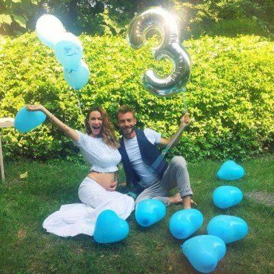 Melita Toniolo sui social annuncia la sua gravidanza