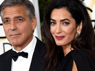George Clooney spende 10mila euro a notte per far nascere i gemelli