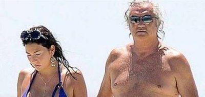 Flavio Briatore e Gregoraci gelo in vacanza