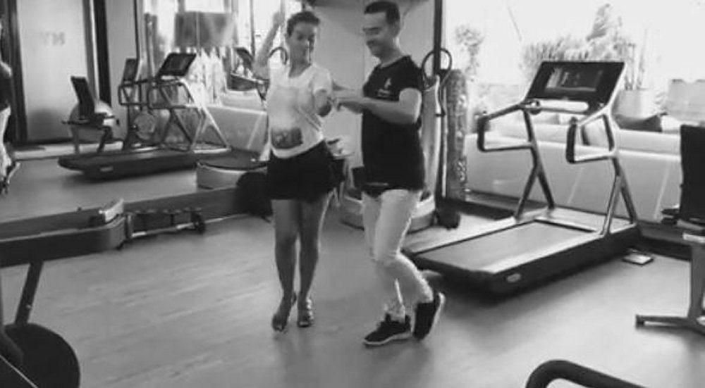 Fiocco rosa per Cristiano Ronaldo e Georgina
