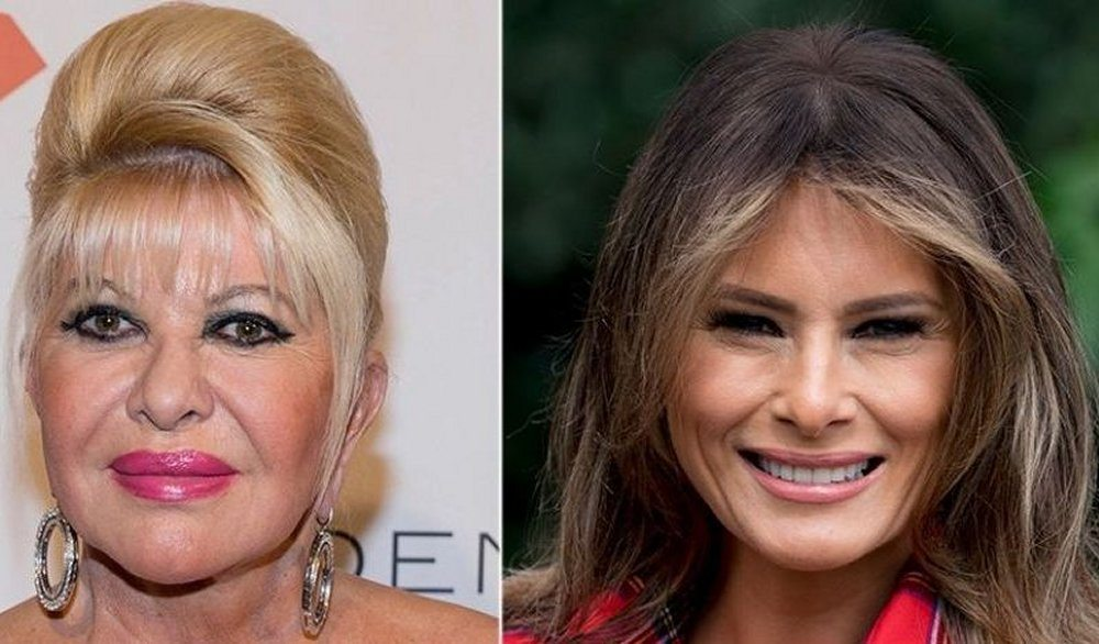 Ivana Trump in tv la first lady sono io