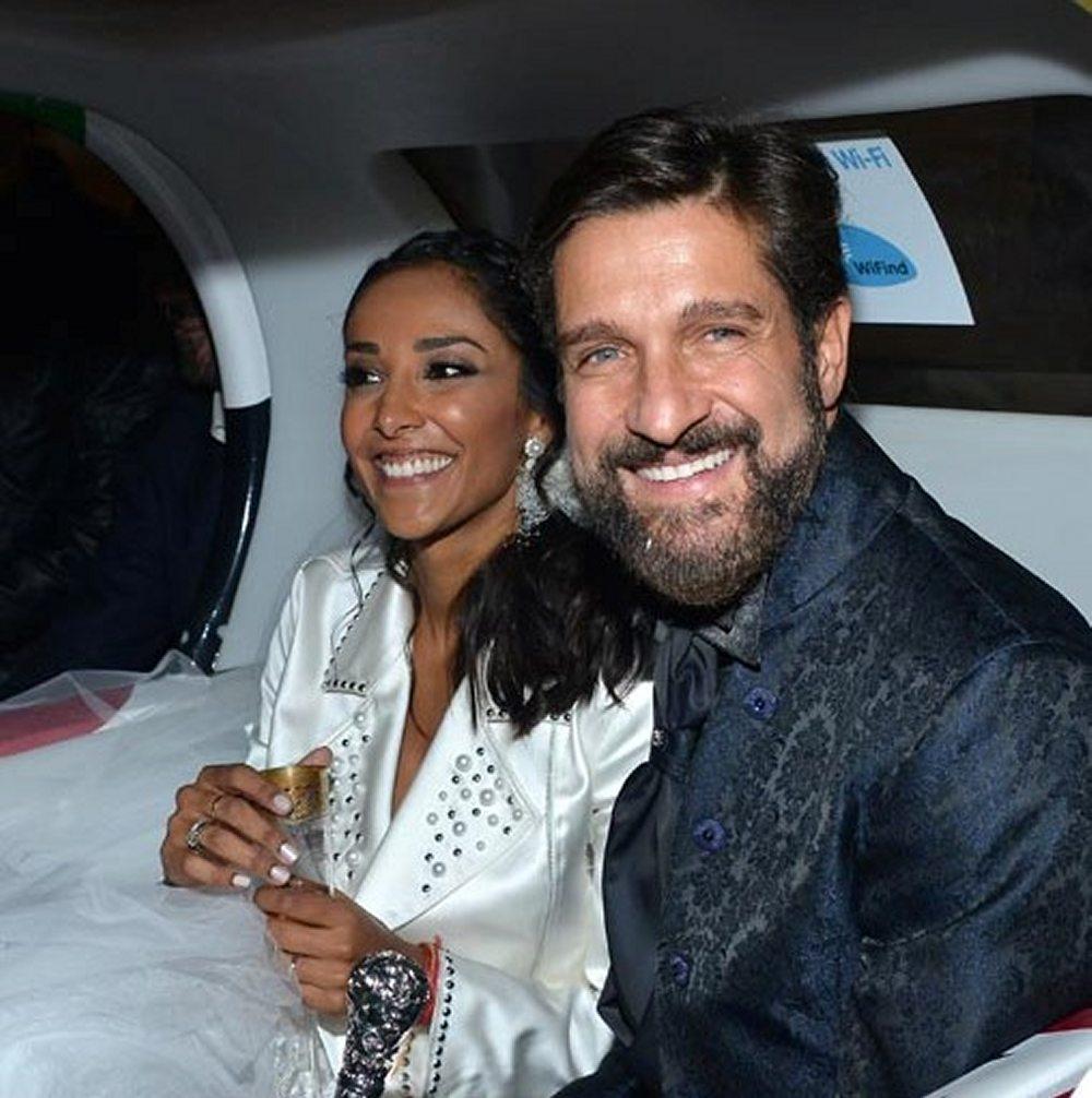 Juliana Moreira ed Edoardo Stoppa finalmente sposi