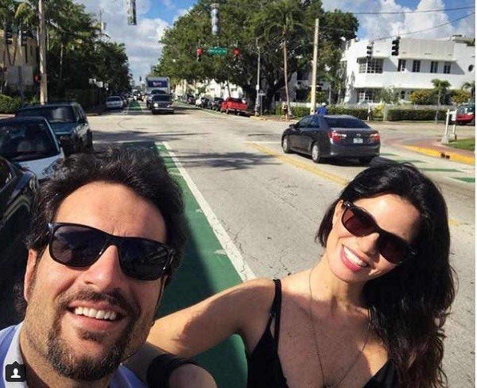 Laura Torrisi e Luca Betti vacanza a Miami