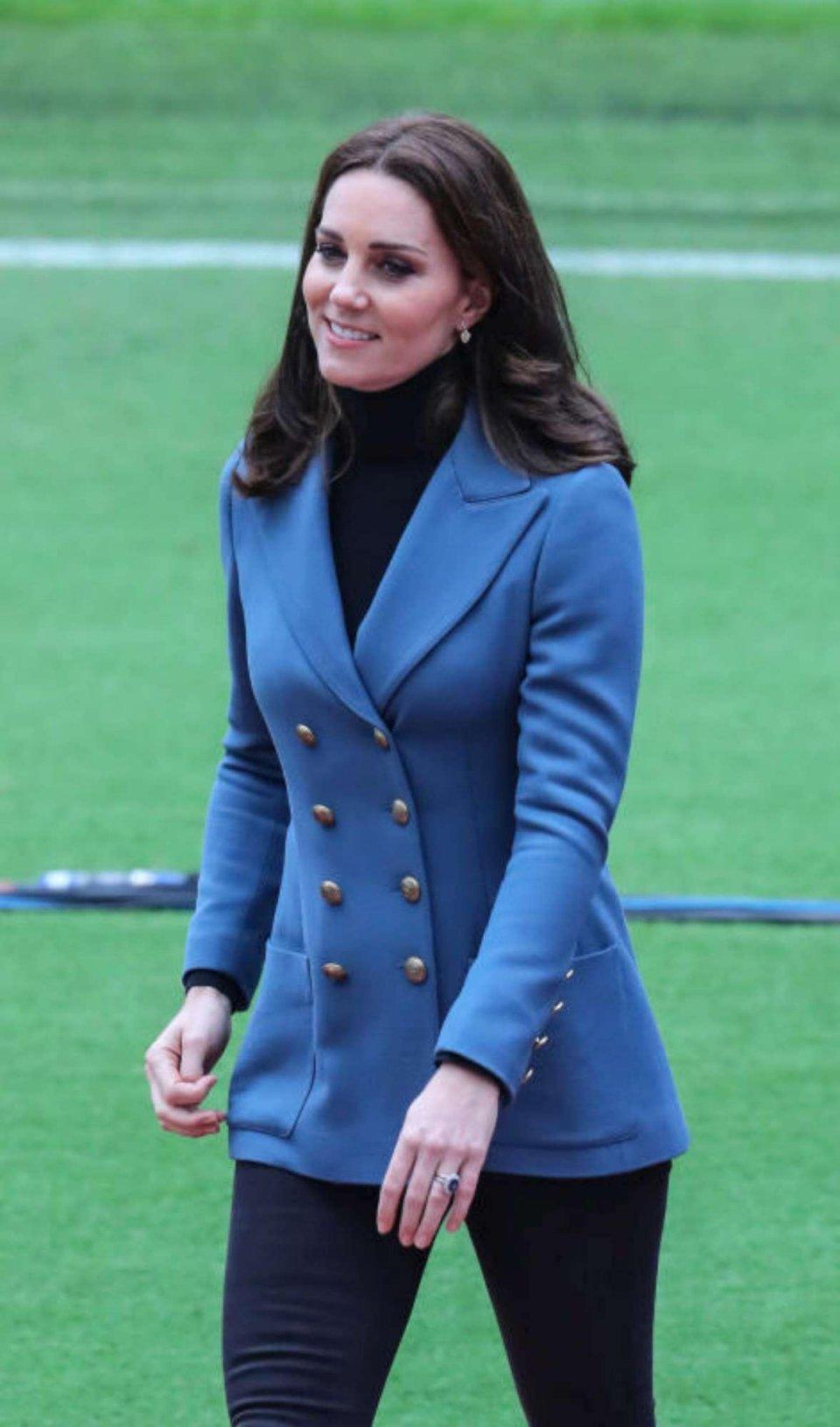 Fiocco azzurro per Kate Middletton