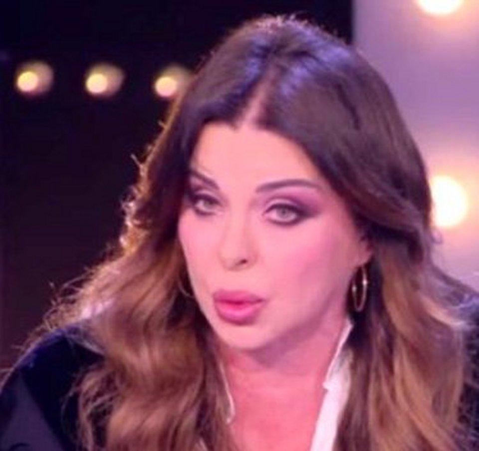 Live botta e risposta tra Barbara D'Urso e Alba Parietti