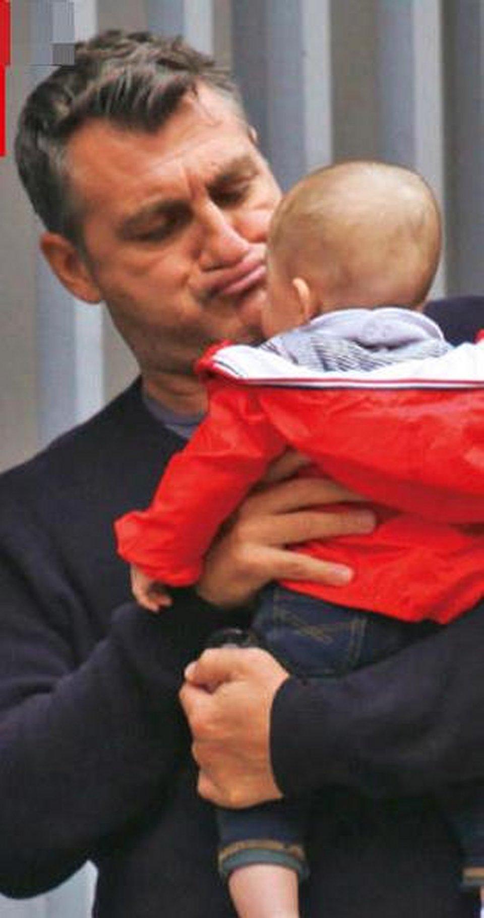 Bobo Vieri tenero papà con la figlia Stella