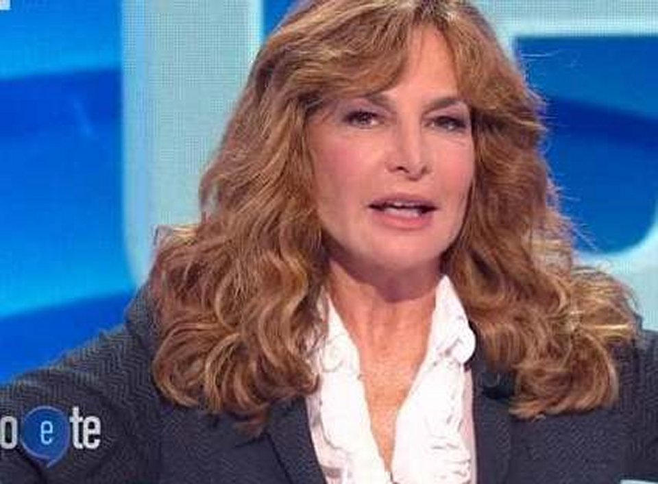 Giuliana De Sio in tv racconta un anedetto personale imbarazzo in studio