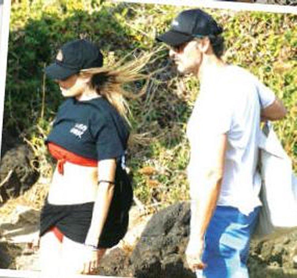 Vacanza d'amore al mare tra Eleonora Pedron e Fabio Troiano