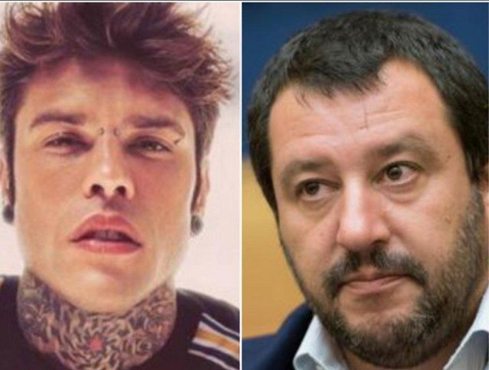 Botta e risposta sui social tra Fedez e Matteo Salvini