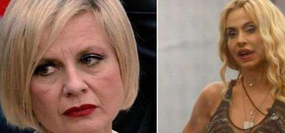 GF Vip prima lite furiosa tra Valeria Marini e Antonella Elia