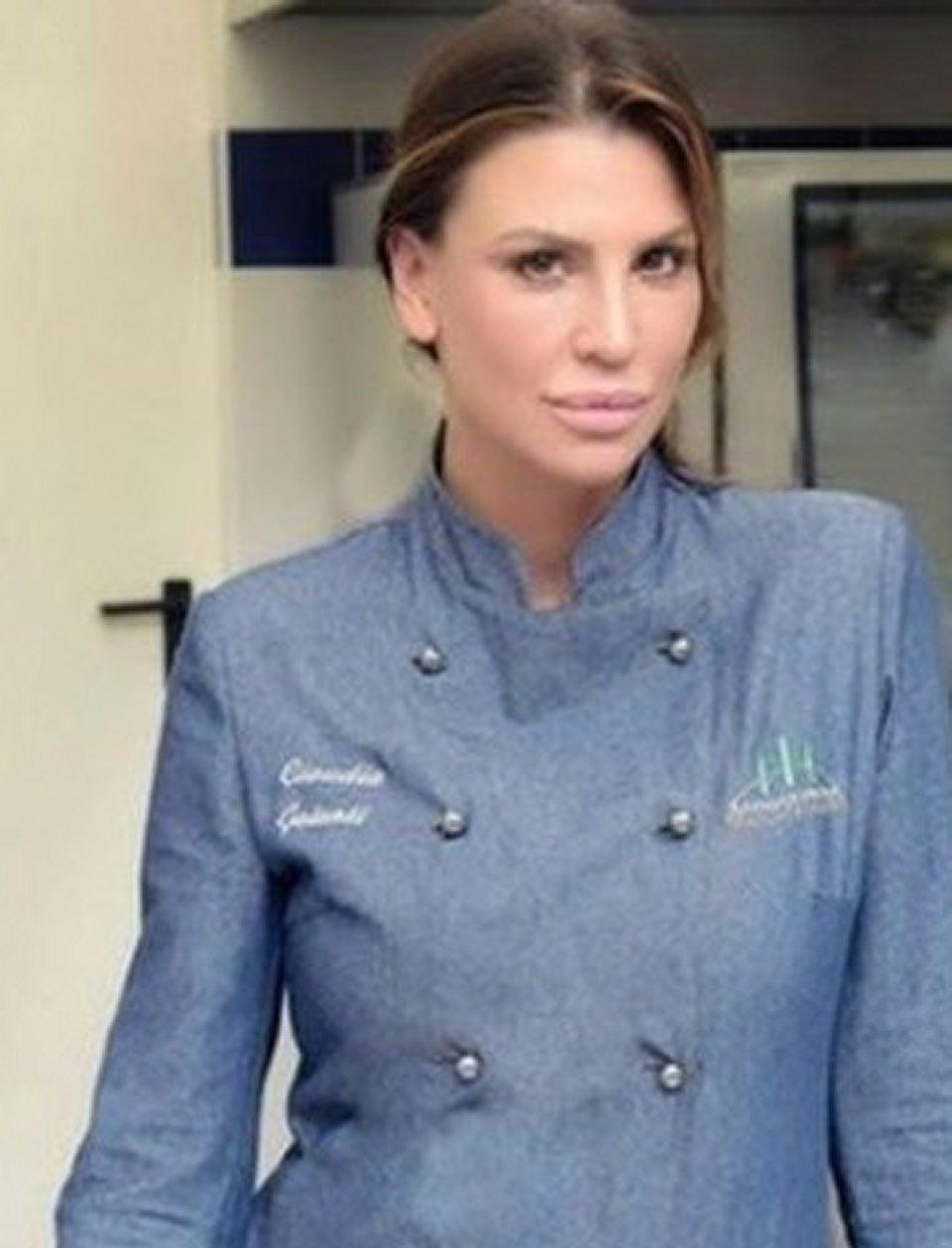 Claudia Galanti ha cambiato stile di vita oggi si dedica alla cucina