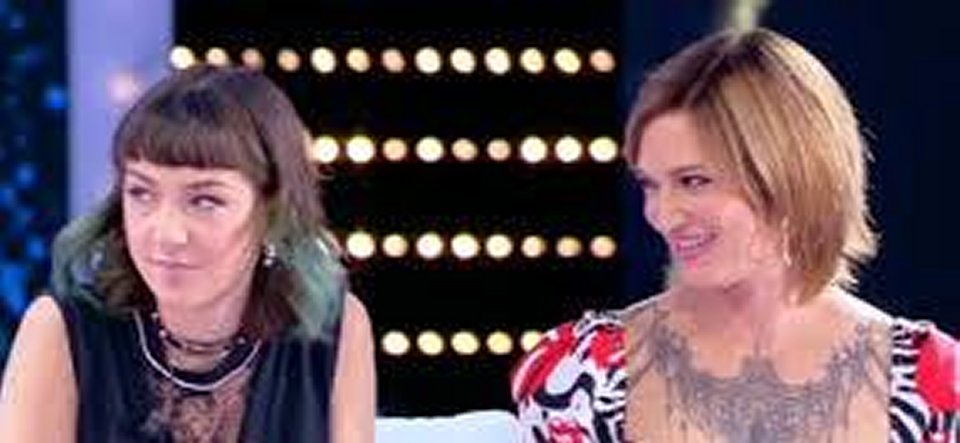 Asia Argento per la prima volta in tv con la figlia Anna Lou Castoldi