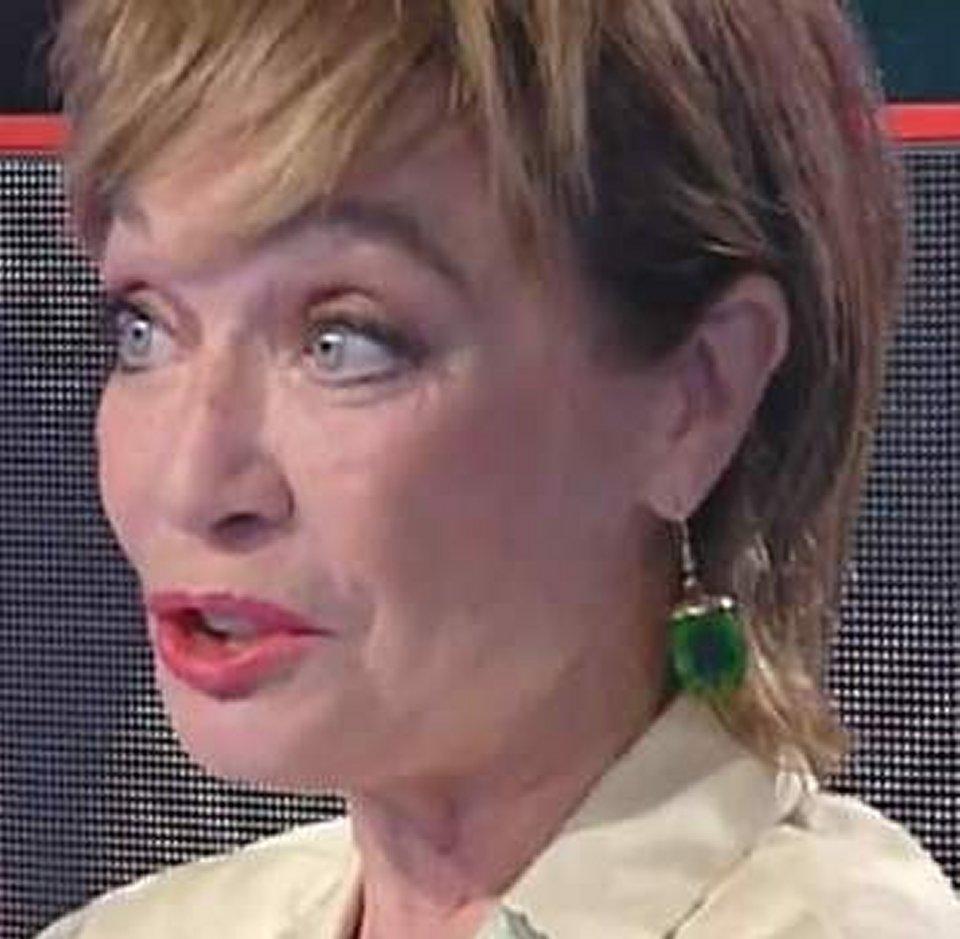 Storie Italiane le lacrime di Oriella Dorella in diretta tv