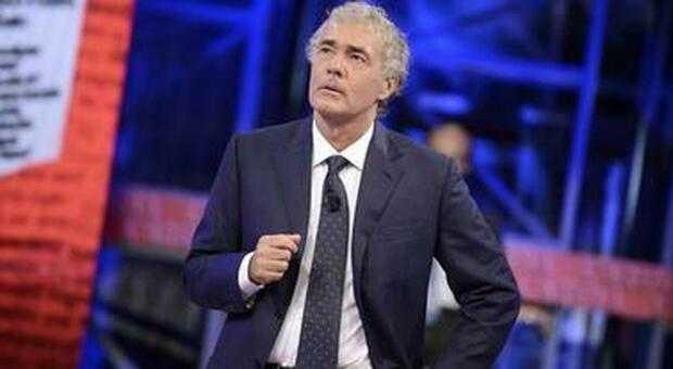 Malore in diretta per Massimo Giletti a Non è l'arena