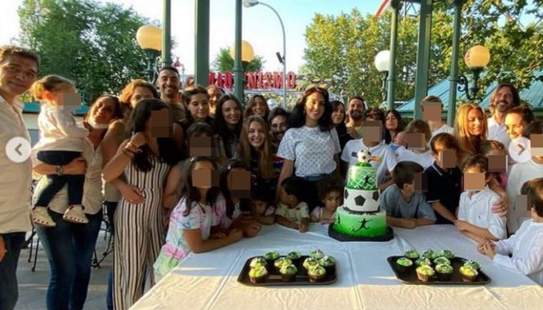 Cristiano Ronaldo Jr compie gli anni, grande festa al parco giochi