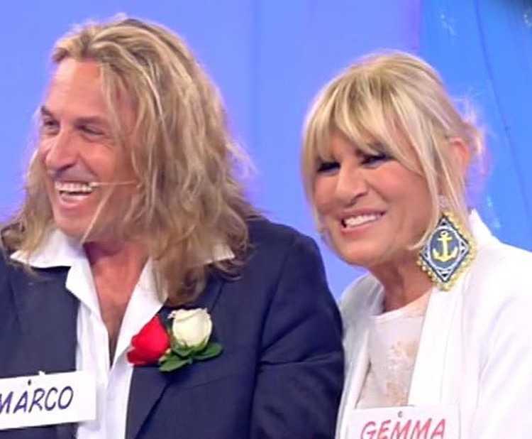 Uomini e donne Gemma Galgani ritrova l'amore arriva la risposta di Marco Firpo