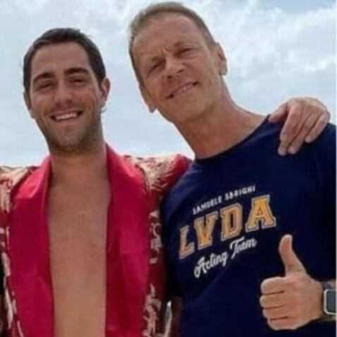 Tommaso Zorzi e Rocco Siffredi la strana coppia insieme in Sardegna cosa bolle in pentola