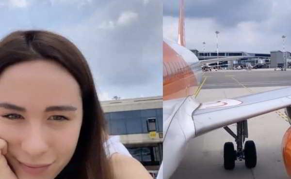Aurora Ramazzotti, disavventura in aereo:
