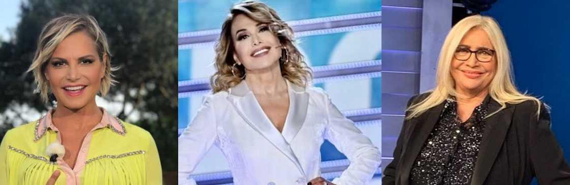 Simona Ventura dice tra Mara Venier e Barbara d'Urso scelgo la pizza