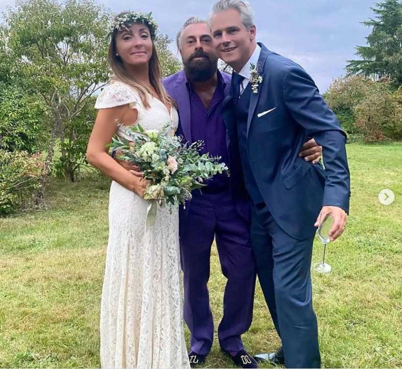 Camila Raznovich ha detto ancora sì con un matrimonio country in Normandia